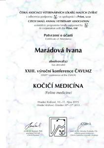 certifikát já