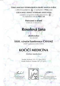 certifikat Rosolova