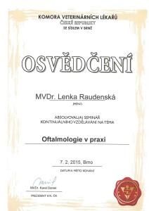 Oftalmologie Raudenská